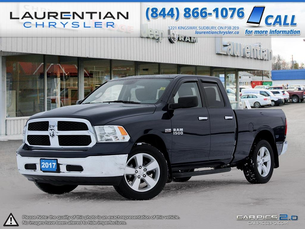 Pre-Owned 2017 Ram 1500 SLT - REMAINING BASIC AND POWERTRAIN WARRANTEE!!!