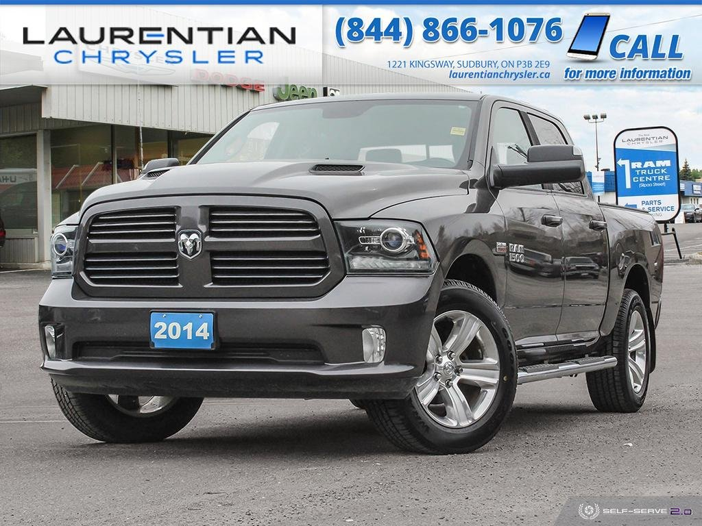 Pre-Owned 2014 Ram 1500 Sport - BACK-UP CAM, BLUETOOTH, NAV, CERTIFIED!!!!