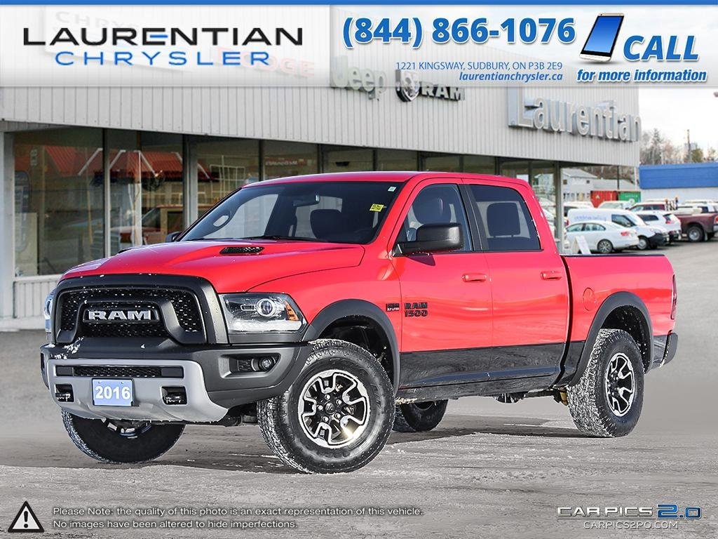 Pre-Owned 2016 Ram 1500 Rebel HEATED SEATS & STEERING WHEEL!!
