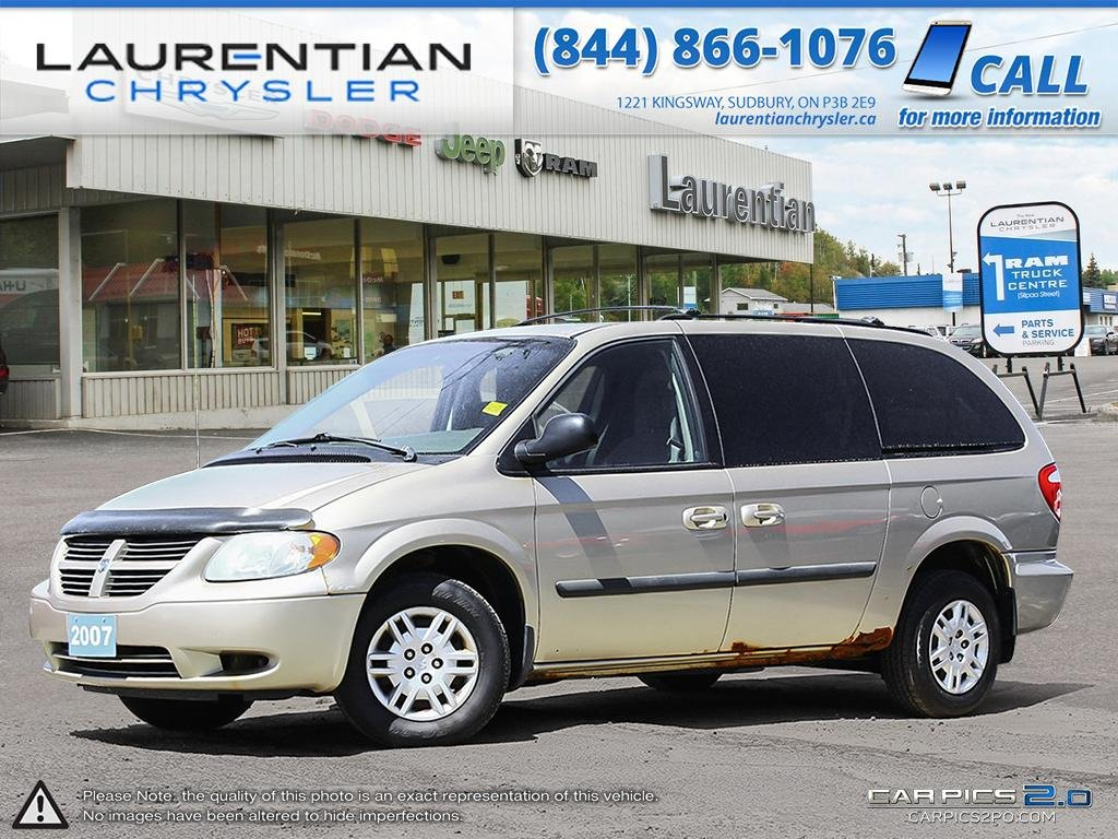 Pre-Owned 2007 Dodge Grand Caravan - SELF CERTIFY- DVD PLAYER!
