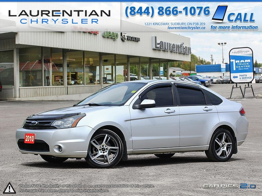 Pre-Owned 2010 Ford Focus SES- CERTIFIED-AFFORDABLE BACK-TO-SCHOOL CAR!!