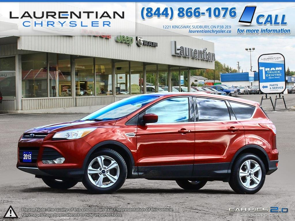 Pre-Owned 2015 Ford Escape SE- 4WD!! HEATED SEATS!! BLUETOOTH!! BACKUP CAM!!