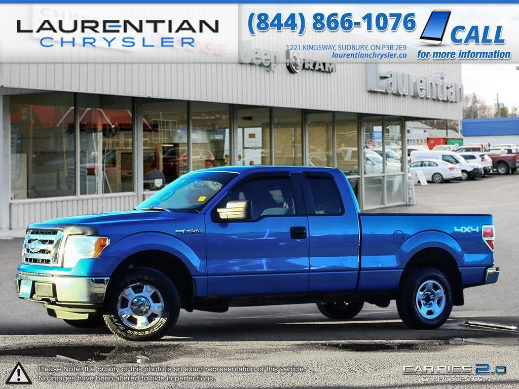 Pre-Owned 2011 Ford F-150 XLT - SELF CERTIFY - TOW HOOKS! TOW HITCH!