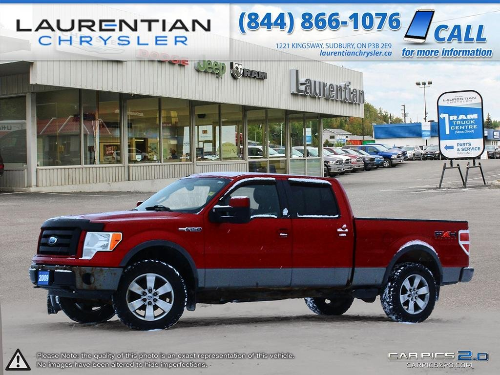 Pre-Owned 2009 Ford F-150 FX4- SELF CERTIFY!! SUNROOF!! HEATED SEATS!!
