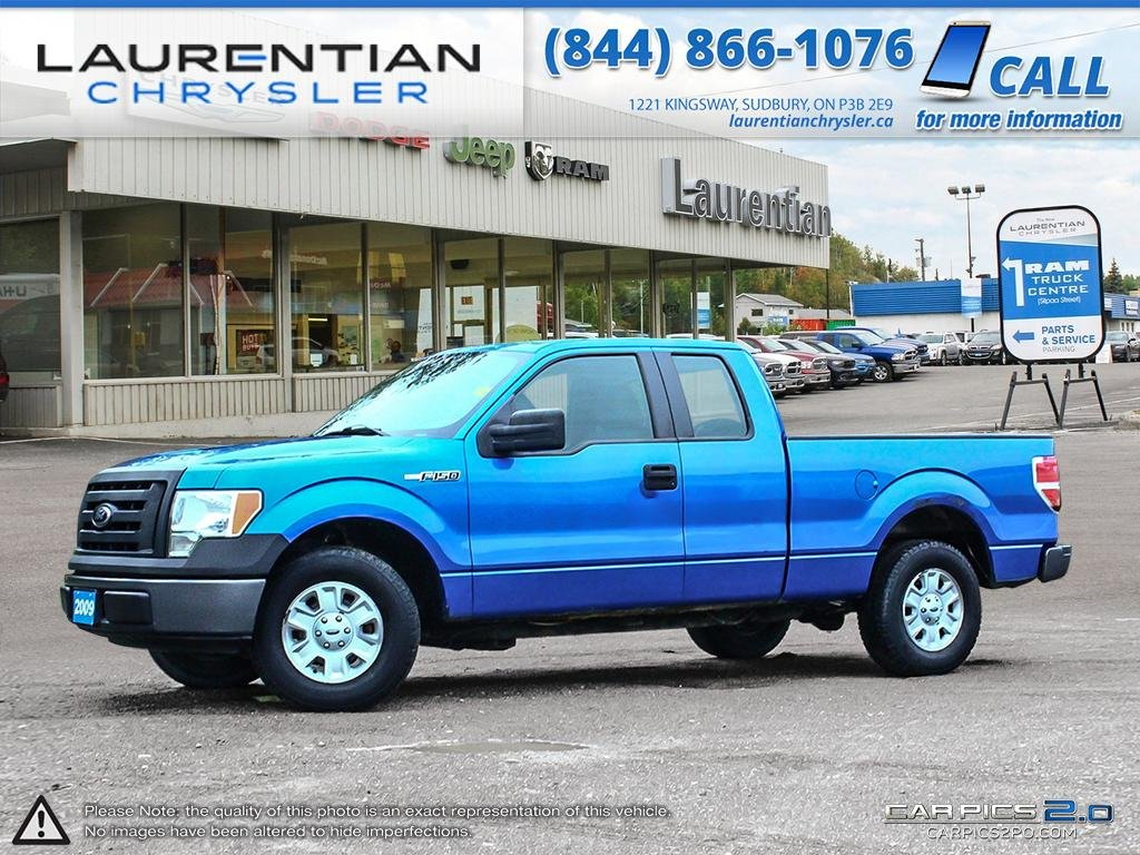 Pre owned 2009 ford f 150 stx self certify ext cab