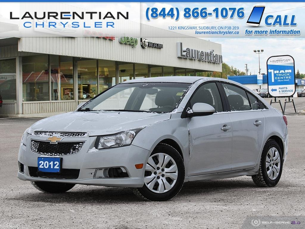 Pre-Owned 2012 Chevrolet Cruze LT Turbo CLEAN! CERTIFIED!!!!