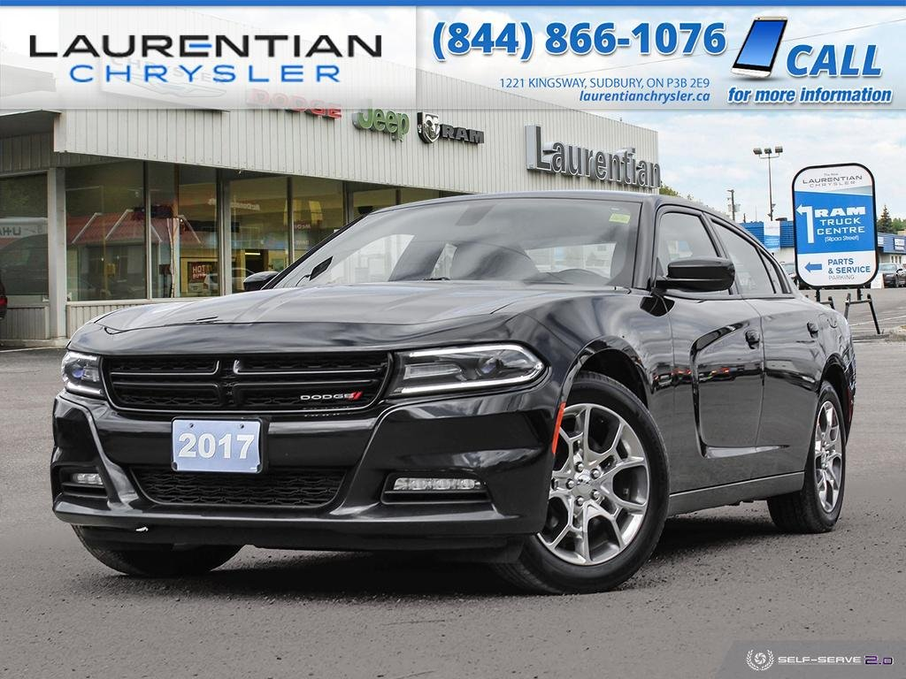 Pre-Owned 2017 Dodge Charger SXT - AWD, HEATED SEATS, BLUETOOTH, PUSH-START IGNITION!!!!!