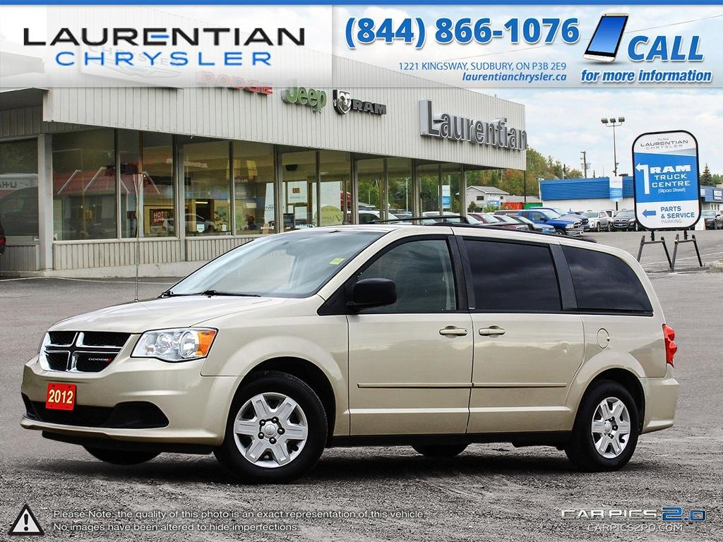 Pre-Owned 2012 Dodge Grand Caravan SXT- SELF CERTIFY!!!