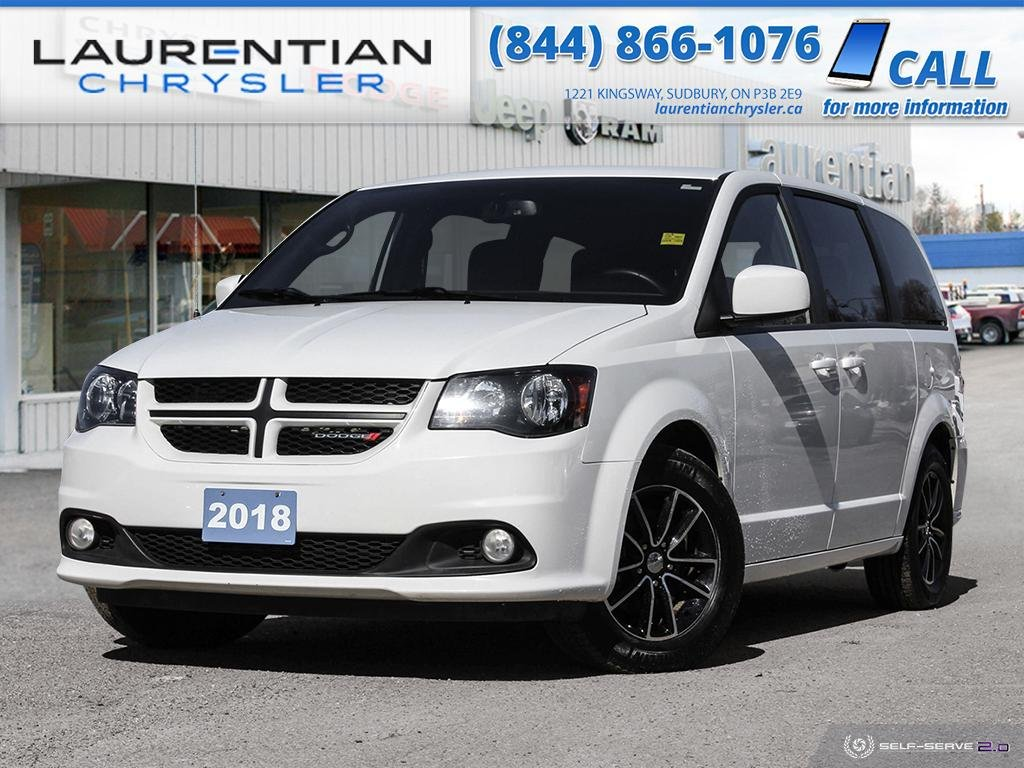 Pre-Owned 2018 Dodge Grand Caravan GT - BLUETOOTH, BACK-UP CAM, LEATHER!!!