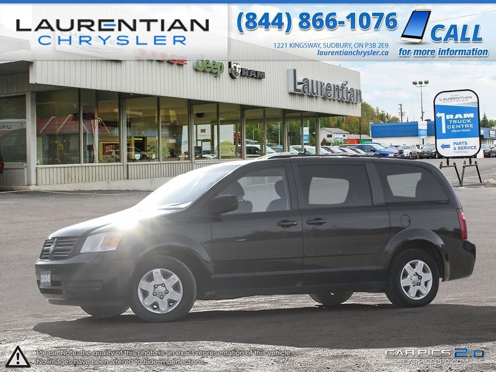Pre-Owned 2008 Dodge Grand Caravan SE- SELF CERTIFY!!