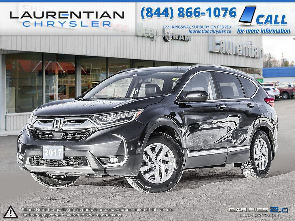 Pre-Owned 2017 Honda CR-V Touring - LEATHER INTERIOR!! PUSH START IGNITION!!