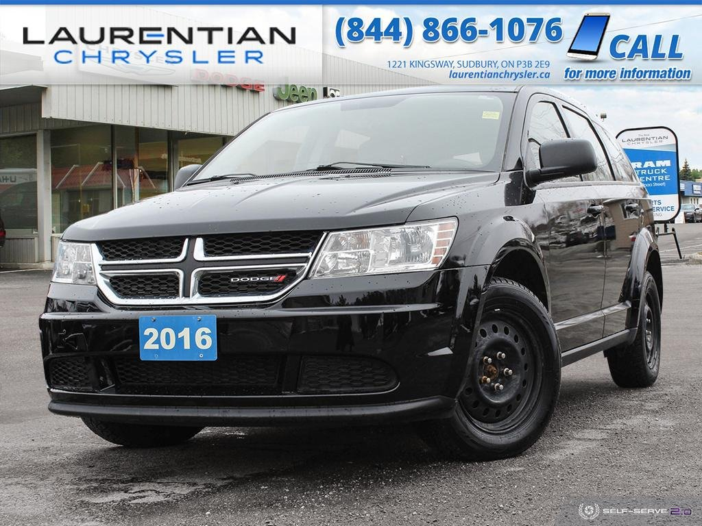 Pre-Owned 2016 Dodge Journey Canada Value Pkg - LARGE FAMILY CROSSOVER, GREAT PRICE!!
