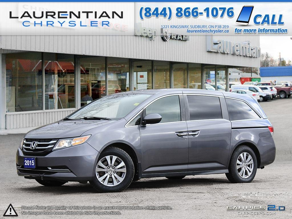 Pre-Owned 2015 Honda Odyssey - DVD PLAYER!! LEATHER!! SUNROOF!!