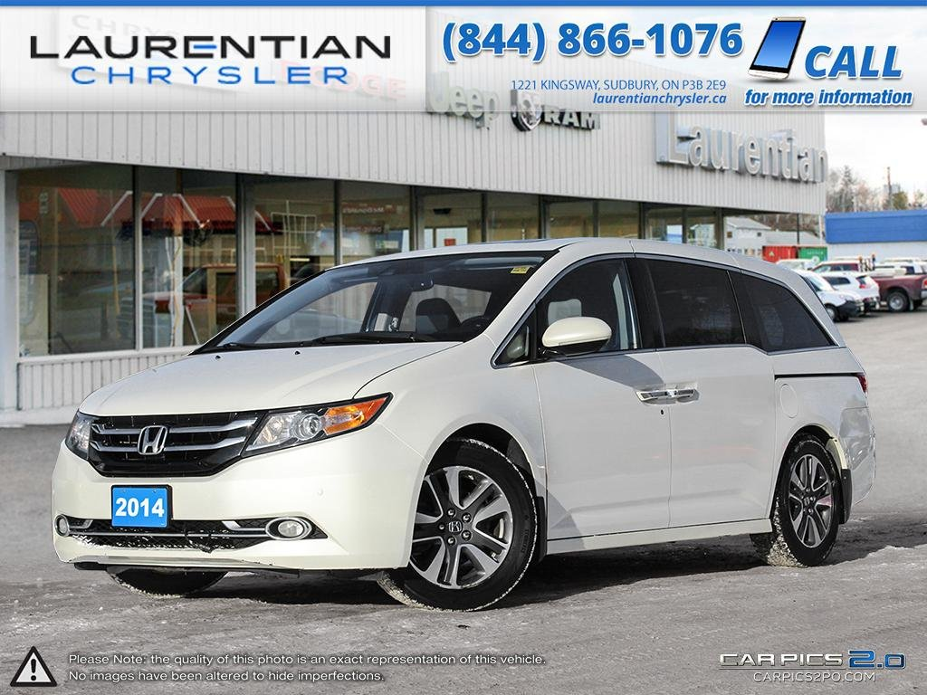 Pre-Owned 2014 Honda Odyssey Touring- LOCALLY OWNED WITH ONLY ONE OWNER......CERTIFIED!!!!!