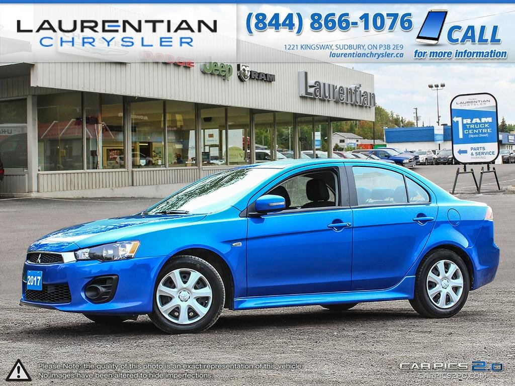 Pre Owned 2017 Mitsubishi Lancer Es Fun To Drive Octane Blue 2008 Fuel Filter