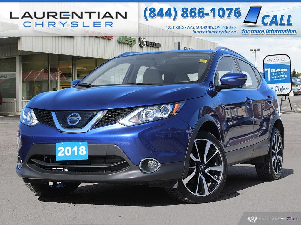 Pre-Owned 2018 Nissan Qashqai SL - BLUETOOTH, HEATED SEATS, NAV, BACK-UP CAM!!!!