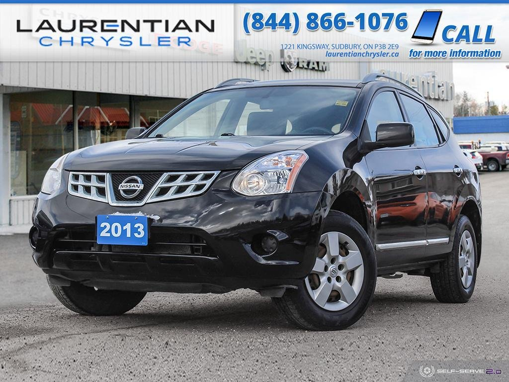 Pre-Owned 2013 Nissan Rogue S - AWD, KEYLESS ENTRY, CERTIFIED!!!