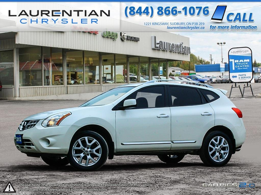 Pre Owned 2012 Nissan Rogue SV  AWD!! SUNROOF!! BLUETOOTH!