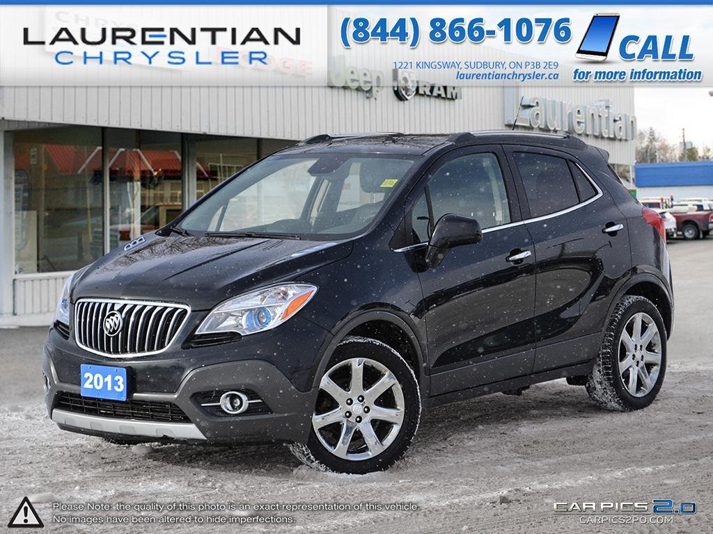 Pre-Owned 2013 Buick Encore LEATHER INTERIOR!! SUNROOF!! CERTIFIED!!!