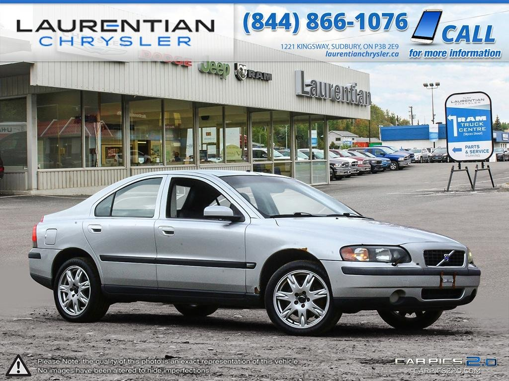 Pre-Owned 2004 Volvo S60 - SELF CERTIFY!!! LEATHER! SUNROOF!