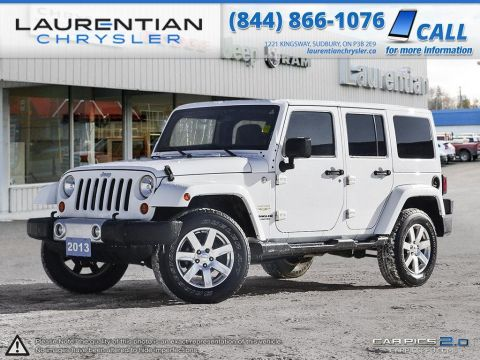 Pre-Owned 2013 Jeep Wrangler Unlimited Sahara- 4X4!! 6 SPD STANDARD!!