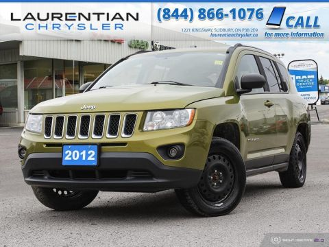 Pre-Owned 2012 Jeep Compass Limited - SUNROOF, HEATED SEATS, NAV, SELF CERTIFY!!!!