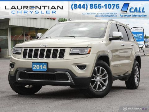 Pre-Owned 2014 Jeep Grand Cherokee Limited - BLUETOOTH, BACK-UP CAM, NAV!!!