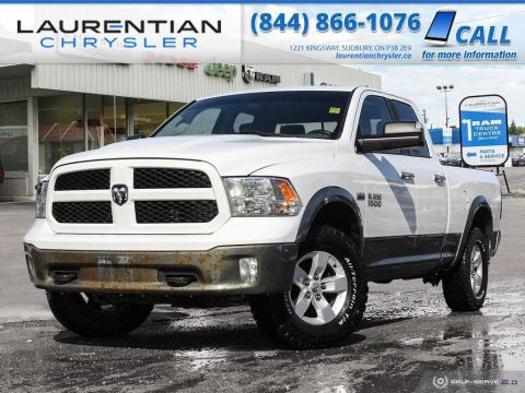Pre-Owned 2013 Ram 1500 Outdoorsman - CLEAN, TOW PACKAGE, BLUETOOTH!!