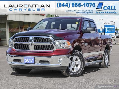 Pre-Owned 2017 Ram 1500 SLT - BACK-UP CAM, BLUETOOTH, HEATED SEATS!!!