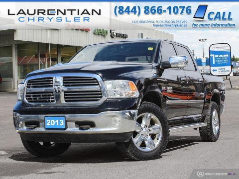 Pre-Owned 2013 Ram 1500 Big Horn - 4X4, BLUETOOTH, TOW PACKAGE, CERTIFIED!!