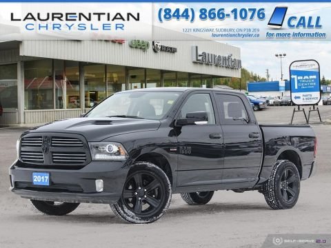Pre-Owned 2017 Ram 1500 Sport - SPRAY-IN BOX LINER!! BACKUP CAM!!