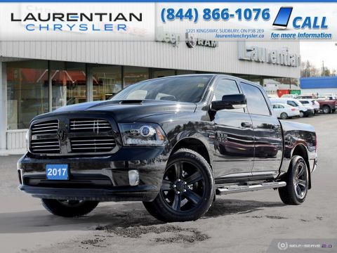 Pre-Owned 2017 Ram 1500 Sport - NAV, BLUETOOTH, BACK-UP CAM, HEATED SEATS!!!!!