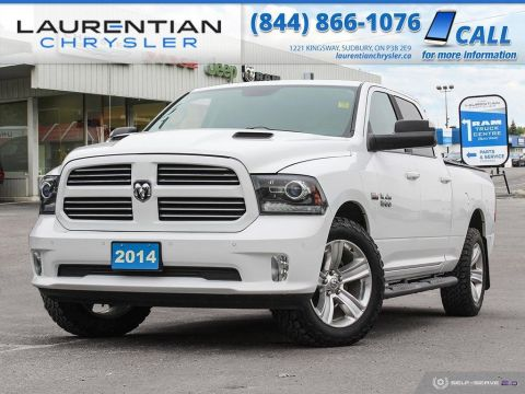 Pre-Owned 2014 Ram 1500 Sport - SUNROOF, NAV, BLUETOOTH, BACK-UP CAM!!