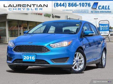 Pre-Owned 2016 Ford Focus SE - BLUETOOTH, HEATED SEATS, BACK-UP CAM!!! FWD 4dr Car
