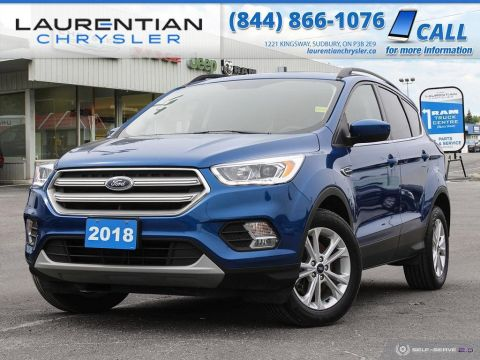 Pre-Owned 2018 Ford Escape SEL - DUAL-PANE SUNROOF, NAV, BACK-UP CAM!!!