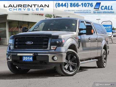 Pre-Owned 2014 Ford F-150 FX4 - HEATED/VENTED SEATS, BACK-UP CAM, BLUETOOTH, NAV!!!!