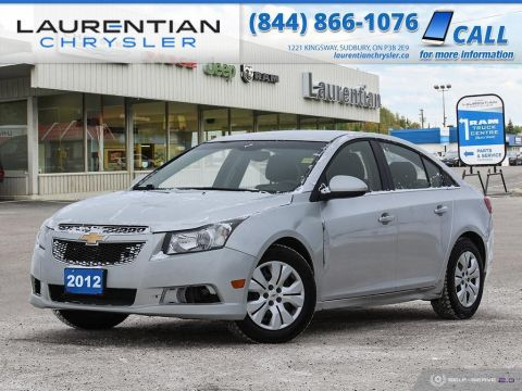 Pre-Owned 2012 Chevrolet Cruze LT Turbo CLEAN! CERTIFIED!!!! FWD 4dr Car