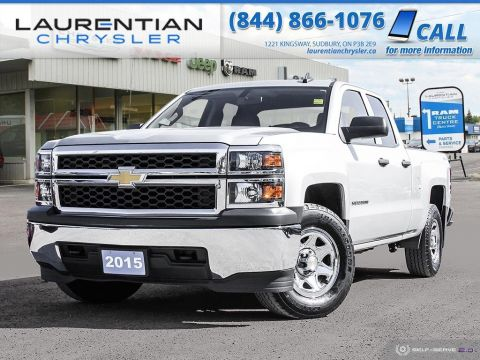 Pre-Owned 2015 Chevrolet Silverado 1500 Work Truck - BACK-UP CAM, BLUETOOTH, TOW PACKAGE!!!