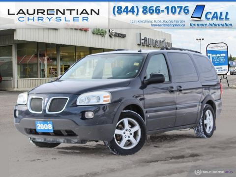 Pre-Owned 2008 Pontiac Montana SV6 w/1SB - SELF CERTIFY!! FWD Mini-van, Passenger