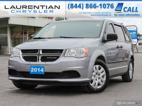 Pre-Owned 2014 Dodge Grand Caravan SE - NEW ARRIVAL!!! GREAT FAMILY VEHICLE!!! FWD Mini-van, Passenger