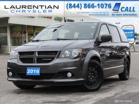 Pre-Owned 2016 Dodge Grand Caravan R/T - LEATHER, DVD, BACK-UP CAM, NAVIGATION!!! FWD Mini-van, Passenger