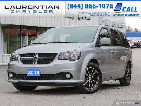 Pre-Owned 2018 Dodge Grand Caravan GT - LEATHER, HEATED SEATS, BLUETOOTH, BACK-UP CAM!!!!
