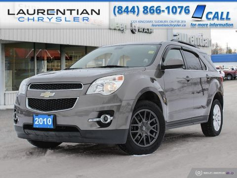 Pre-Owned 2010 Chevrolet Equinox 2LT - BACK-UP CAM, TWO SETS OF TIRES, SELF CERTIFY!!