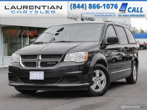 Pre-Owned 2011 Dodge Grand Caravan SXT - BLUETOOTH, DVD PLAYER, BACK-UP CAM, CERTIFIED!