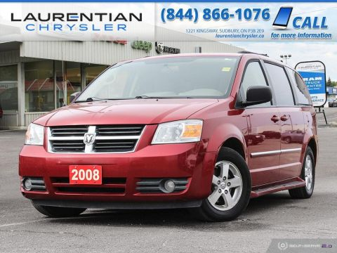 Pre-Owned 2008 Dodge Grand Caravan SE - SELF CERTIFY!!!! FWD Mini-van, Passenger
