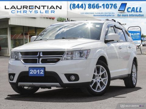 Pre-Owned 2012 Dodge Journey R/T - BLUETOOTH, HEATED SEATS, LEATHER, SELF CERTIFY!!!