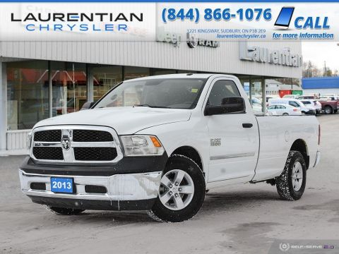 Pre-Owned 2013 Ram 1500 ST - BENCH SEAT, CERTIFIED!!