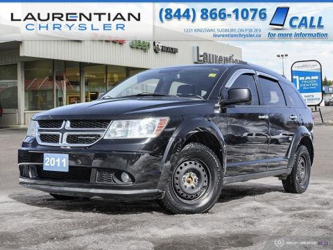 Pre-Owned 2011 Dodge Journey R/T - NAV, BLUETOOTH, SUNROOF, LEATHER, CERTIFIED!!!