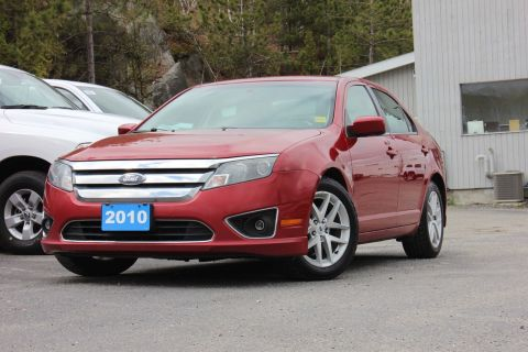 Pre-Owned 2010 Ford Fusion SEL - LEATHER!! HEATED SEATS!! SELF CERTIFY!!! FWD 4dr Car