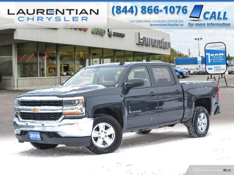 Pre-Owned 2018 Chevrolet Silverado 1500 LT - CREW CAB. LONG BOX.